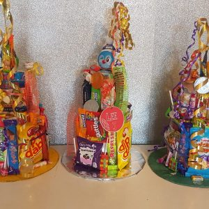 3 tier toy tower