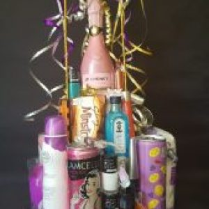 3 tier 18th or 21st girls birthday tower
