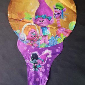 trolls handheld baton foil balloon