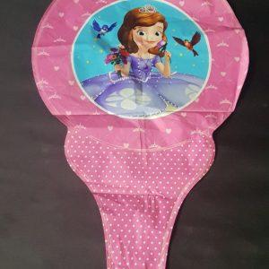 sofia the first princess handheld foil balloon