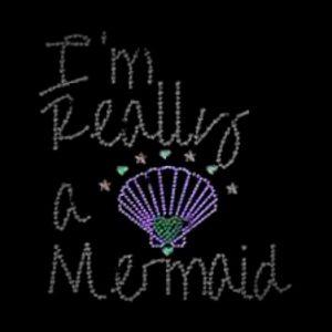 im really a mermaid transfer