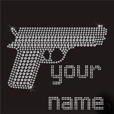 rhinestone gun transfer