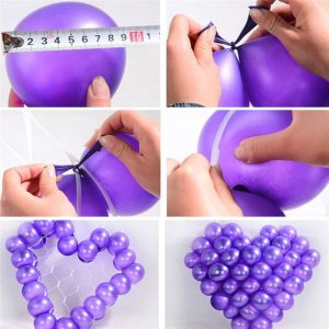 FREE GIFT 3d giant heart balloon grid