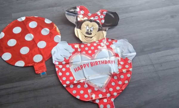 Minnie mouse pack handheld foil balloon