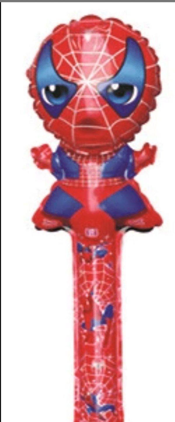 spiderman long baton balloon