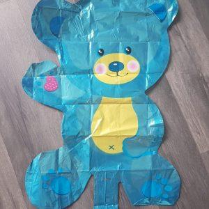 bear handheld foil balloon