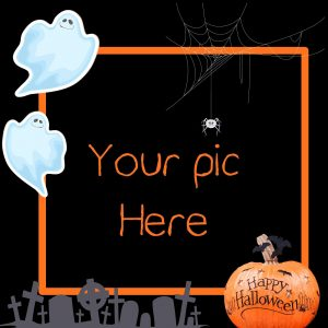 halloween personalised card