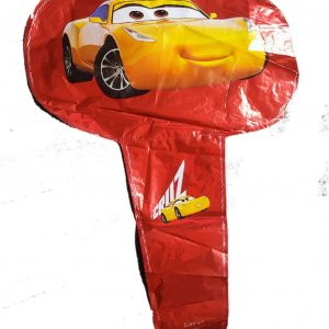 cars handheld baton foil balloon