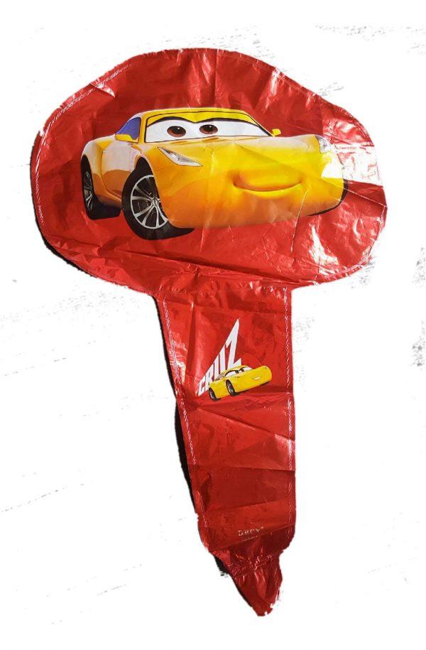 cars handheld baton foil balloon