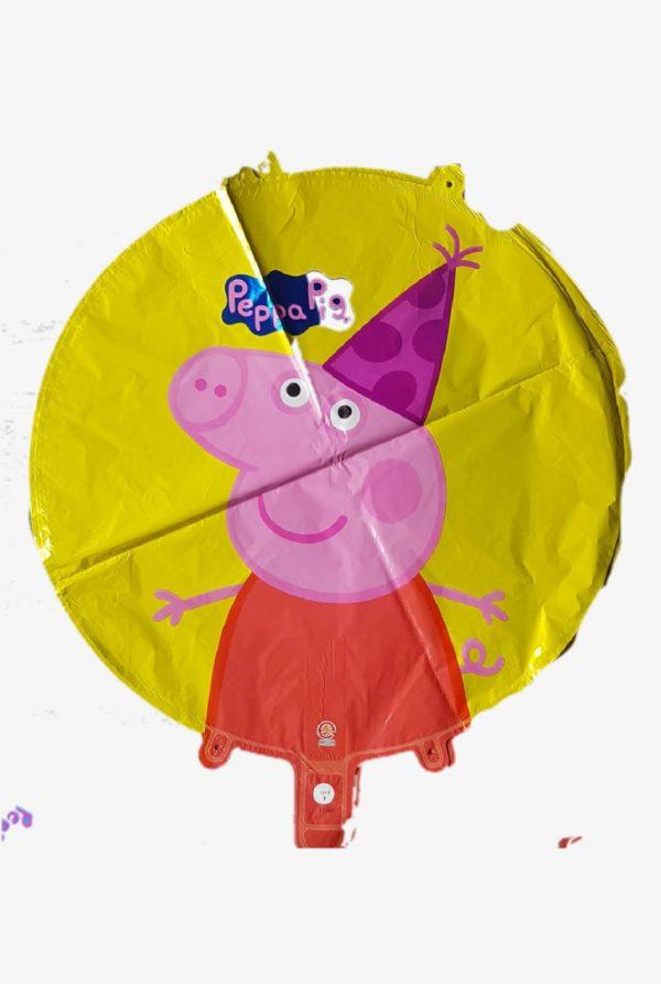 """peppa pig round 18"""" peppa pig round 18"""" foil round balloonfoil round balloon"""