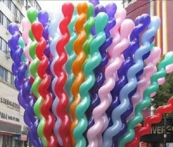 giant spiral balloons