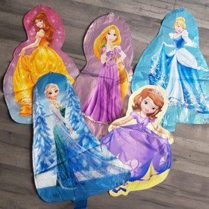 princess character 3D foil balloons