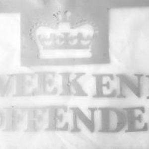 weekend offender vinyl transfer