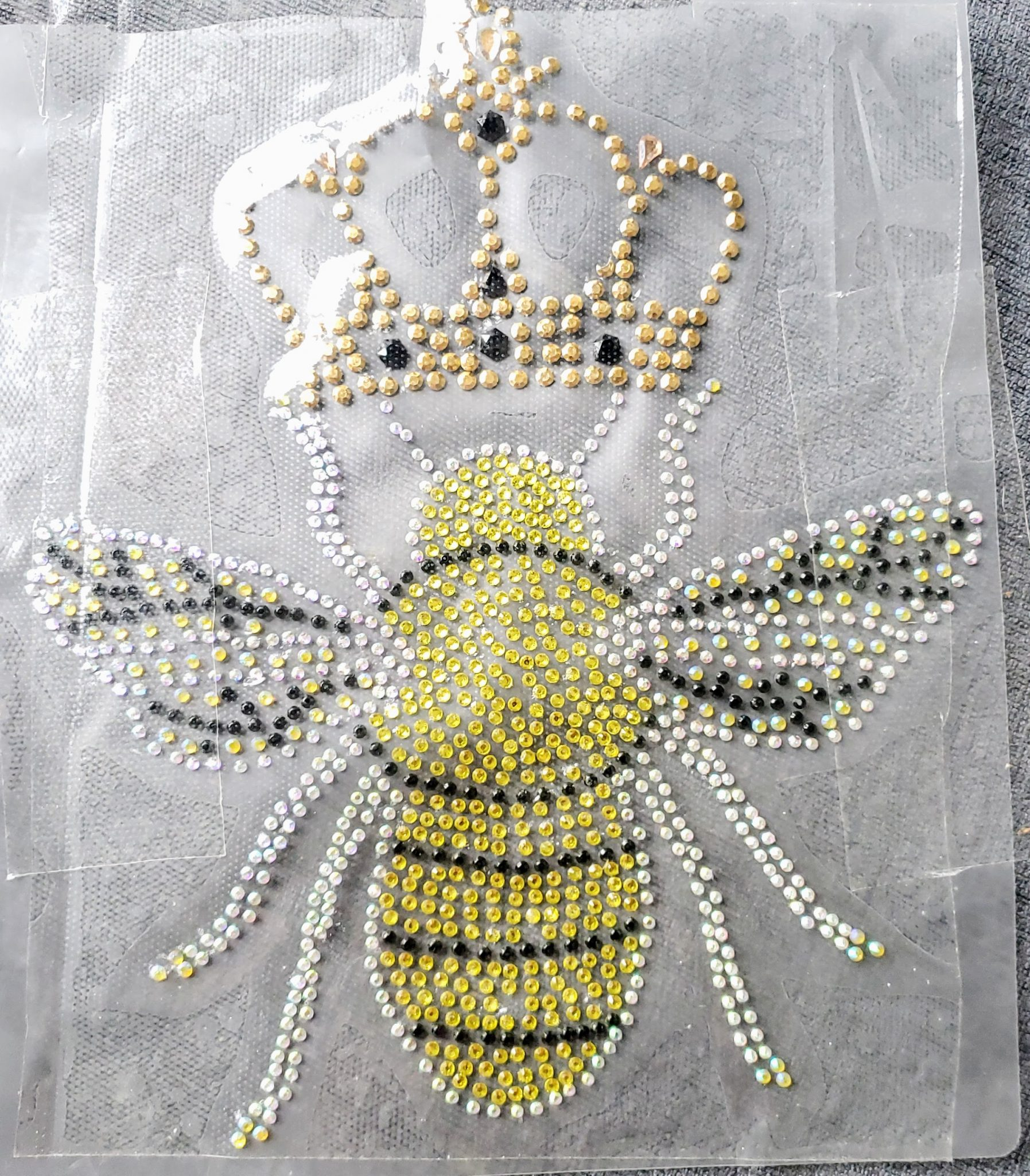 rhinestone queen bee