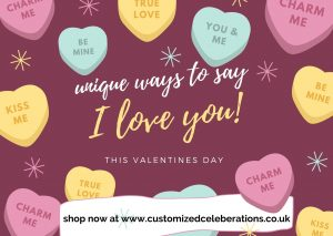 Colourful Candy Valentines Day slider