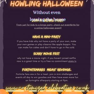 Halloween online events
