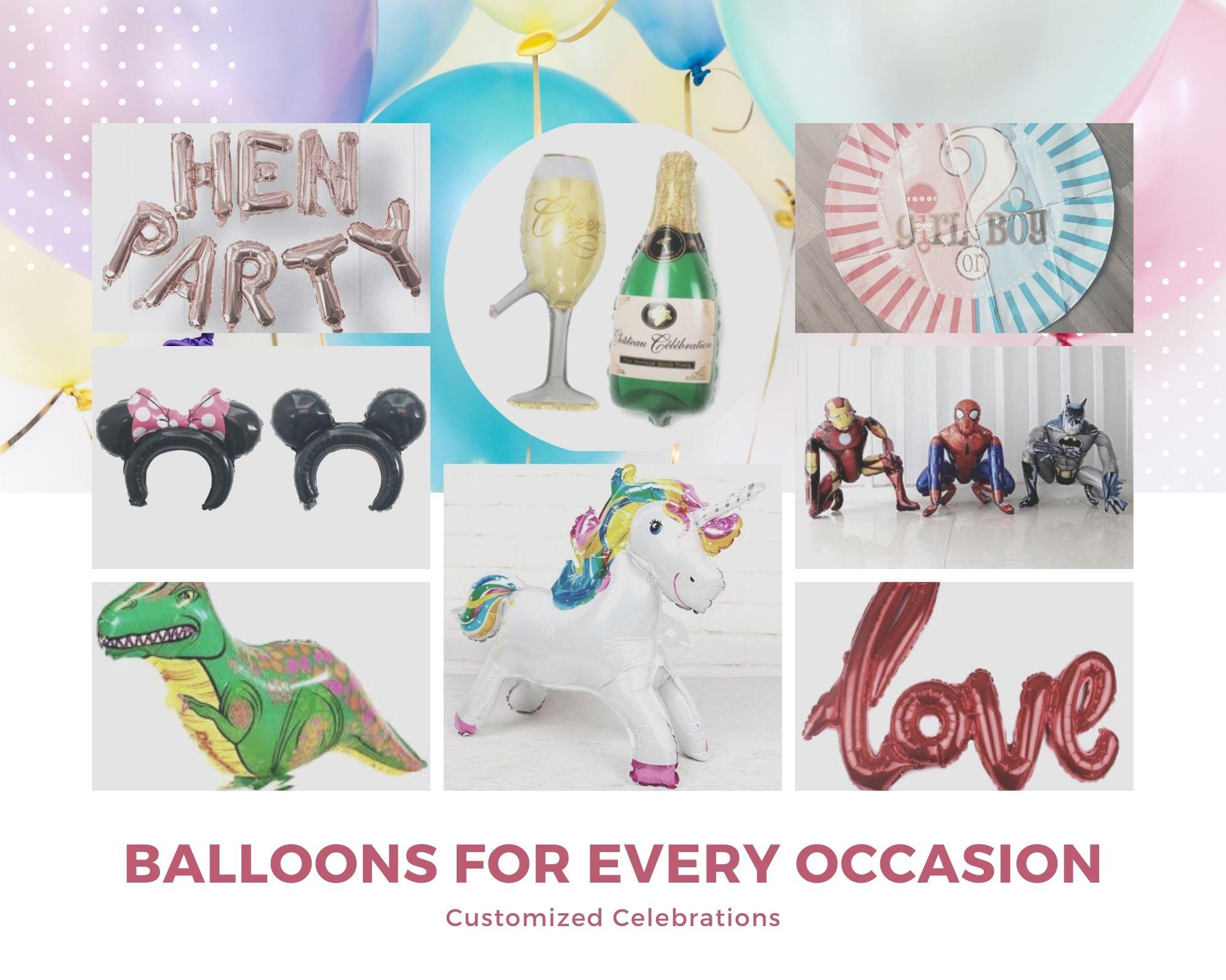 balloon-Collage