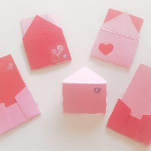 Mini love notes with envelopes