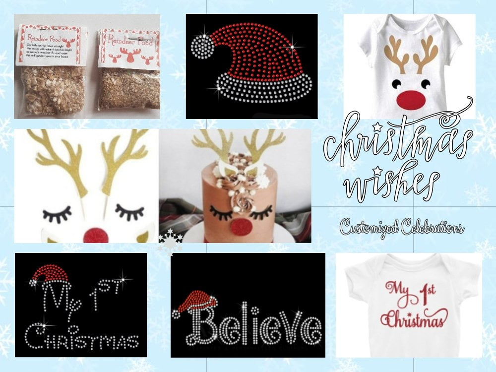 Christmas wishes poster